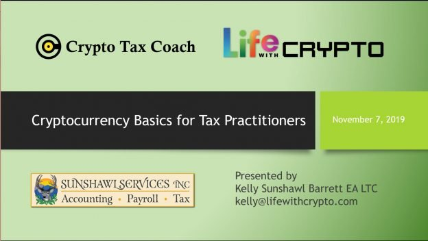 Crypto Basics for Tax Pros